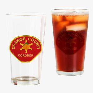 Orange County Coroner Drinking Glass