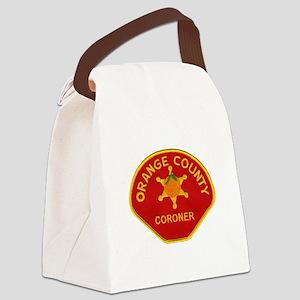 Orange County Coroner Canvas Lunch Bag