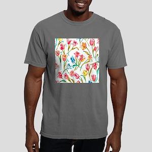 Colorful Tulips Mens Comfort Colors Shirt