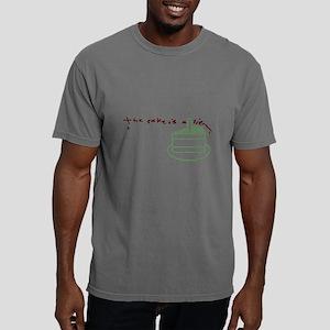 thecakeisalie singlescra Mens Comfort Colors Shirt