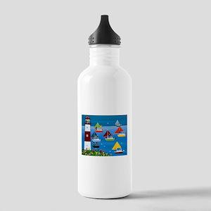 Boat race Stainless Water Bottle 1.0L