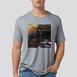 Great Smoky Mountains Natio Mens Tri-blend T-Shirt