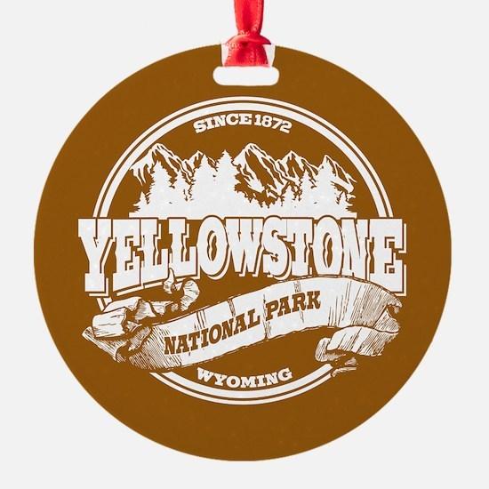 Yellowstone Old Circle Ornament