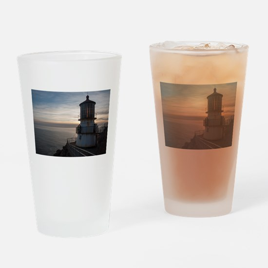 Point Reyes Lighthouse Drinking Glass
