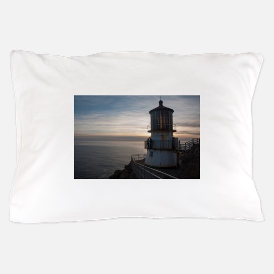Point Reyes Lighthouse Pillow Case