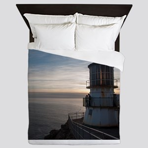 Point Reyes Lighthouse Queen Duvet