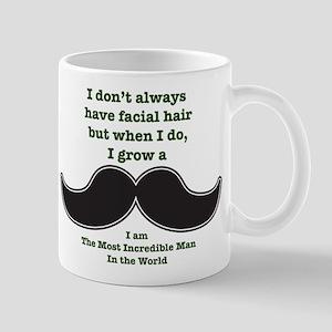 Mustache Saying Mug