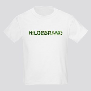 Hildebrand, Vintage Camo, Kids Light T-Shirt