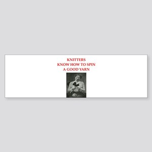 knitters Sticker (Bumper)