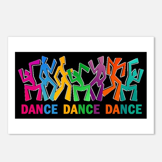 Dance Dance Dance Postcards (Package of 8)