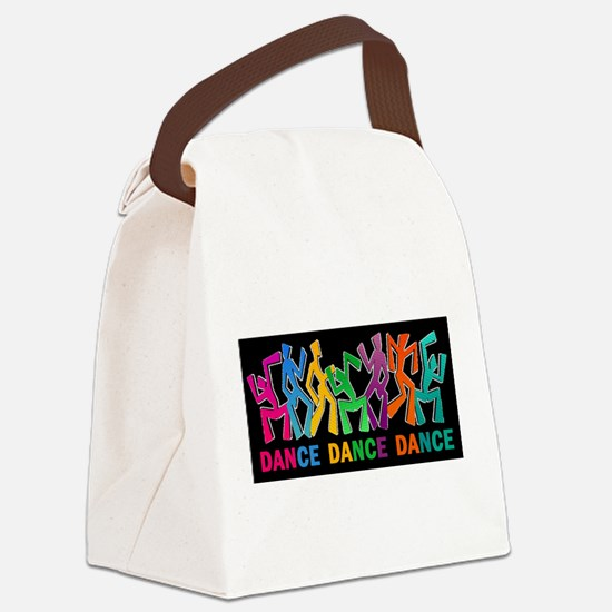 Dance Dance Dance Canvas Lunch Bag