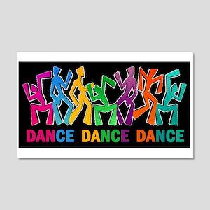 Dance Dance Dance 20x12 Wall Decal