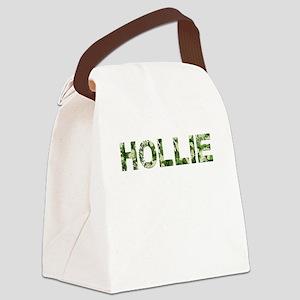 Hollie, Vintage Camo, Canvas Lunch Bag