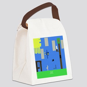 Geo Park Canvas Lunch Bag