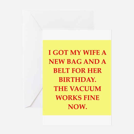 male chauvinist g Greeting Card
