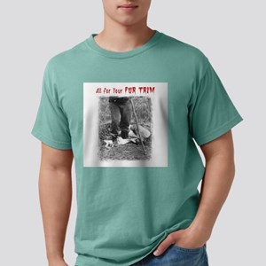 All For Your Fur Trim Mens Comfort Colors Shirt