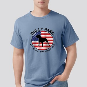 Bully Paws Logo Mens Comfort Colors Shirt