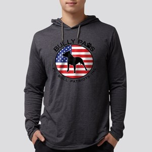 Bully Paws Logo Mens Hooded Shirt