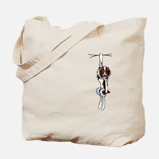 Clingy Springer Tote Bag