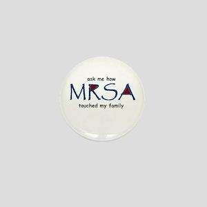 MRSA Family Mini Button
