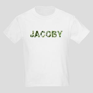 Jacoby, Vintage Camo, Kids Light T-Shirt
