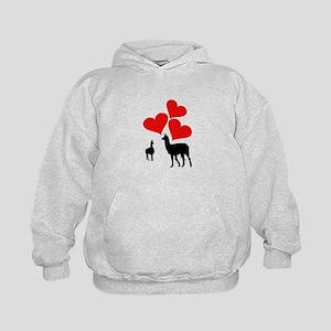 Hearts & Llamas Sweatshirt