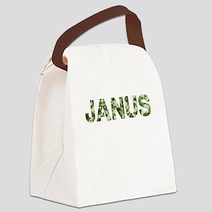 Janus, Vintage Camo, Canvas Lunch Bag