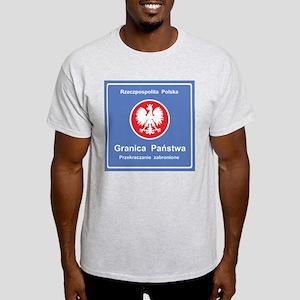 Granica Panstwa Ash Grey T-Shirt