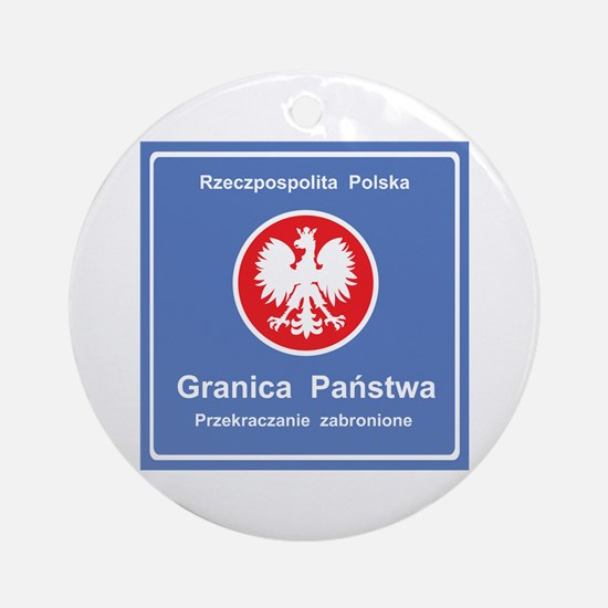 Granica Panstwa Ornament (Round)