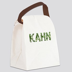 Kahn, Vintage Camo, Canvas Lunch Bag