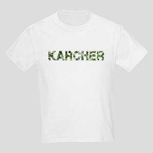 Karcher, Vintage Camo, Kids Light T-Shirt