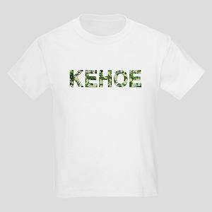 Kehoe, Vintage Camo, Kids Light T-Shirt