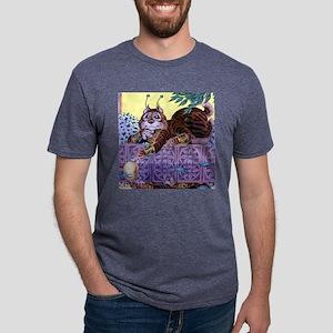alien kitty Mens Tri-blend T-Shirt
