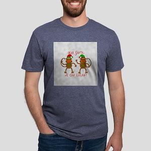 RoundOrnament_2 Mens Tri-blend T-Shirt