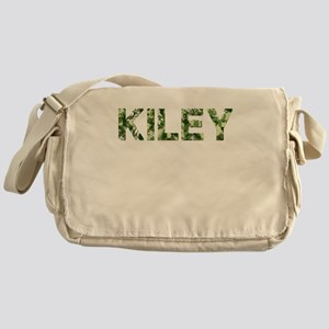Kiley, Vintage Camo, Messenger Bag
