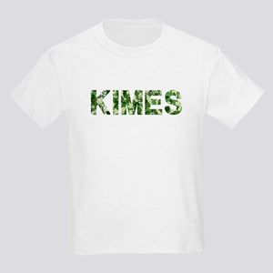 Kimes, Vintage Camo, Kids Light T-Shirt