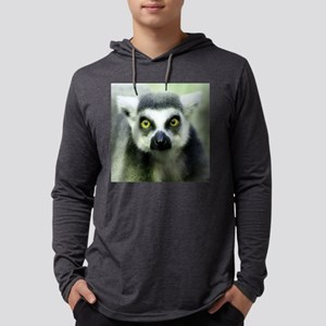 sq lemur Mens Hooded Shirt