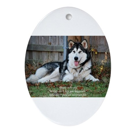 Proceeds Donated to TAMAL Ornament (Oval)