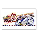 Iraqi Freedom Tour Rectangle Sticker