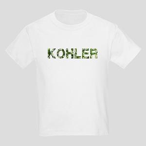 Kohler, Vintage Camo, Kids Light T-Shirt