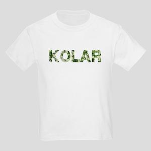Kolar, Vintage Camo, Kids Light T-Shirt