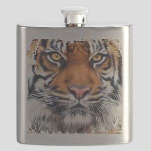 Male Siberian Tiger Flask