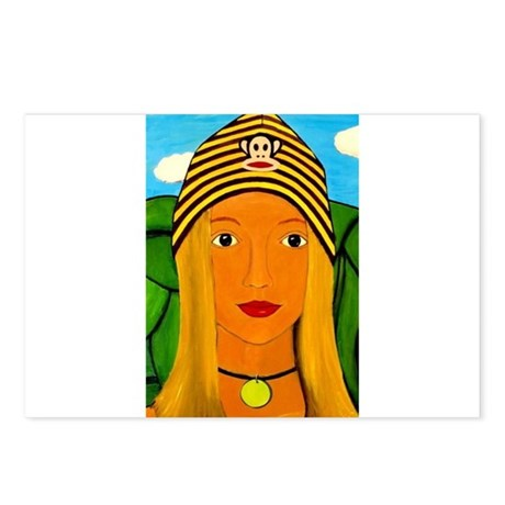 Liz Foshizzle Postcards (Package of 8)