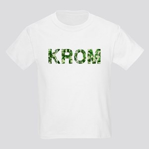 Krom, Vintage Camo, Kids Light T-Shirt