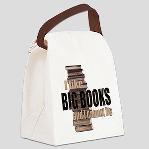 I like Big Books Canvas Lunch Bag