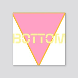 "Bottom Square Sticker 3"" x 3"""