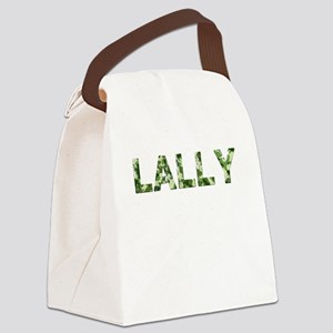 Lally, Vintage Camo, Canvas Lunch Bag