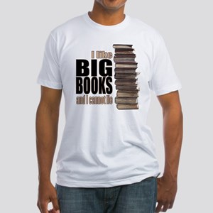Big Books Fitted T-Shirt
