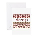Blessings6 Greeting Cards (Pk of 10)