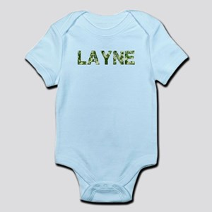 Layne, Vintage Camo, Infant Bodysuit
